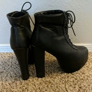 57974a8f1b Delicacy Shoes   Leather Ankle Boot Pumps   Poshmark